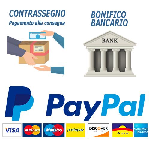 new style 75d8b 7974b Servizio Clienti - Metodi di pagamento